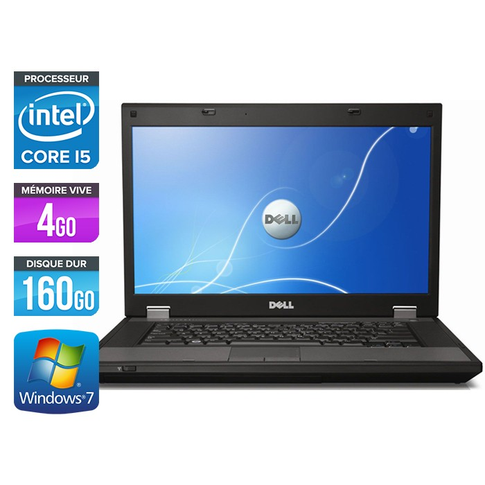 Dell Latitude E5510 - Core i5 - 4Go -160Go