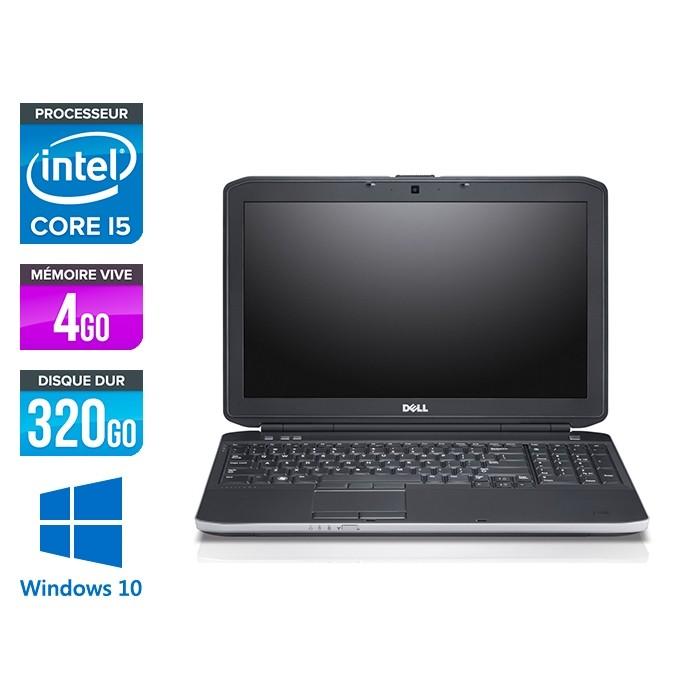 Dell E5530 - i5 3320M -  4Go - 320Go HDD - 15.6'' Full-HD - Windows 10