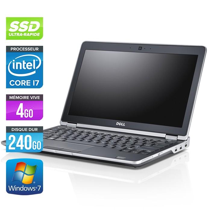 Dell Latitude E6220 - Core i7 - 4Go - 240Go SSD