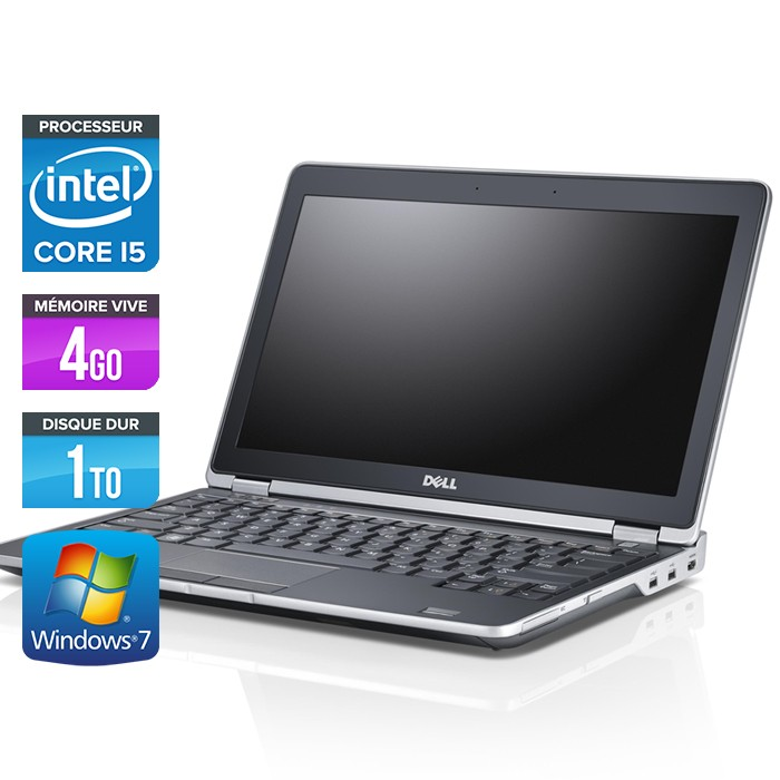 Dell Latitude E6230 - Core i5 - 4Go - 1To
