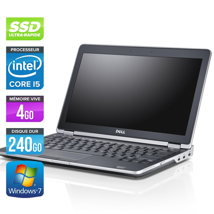 Dell Latitude E6230 - Core i5 - 4Go - 240Go SSD