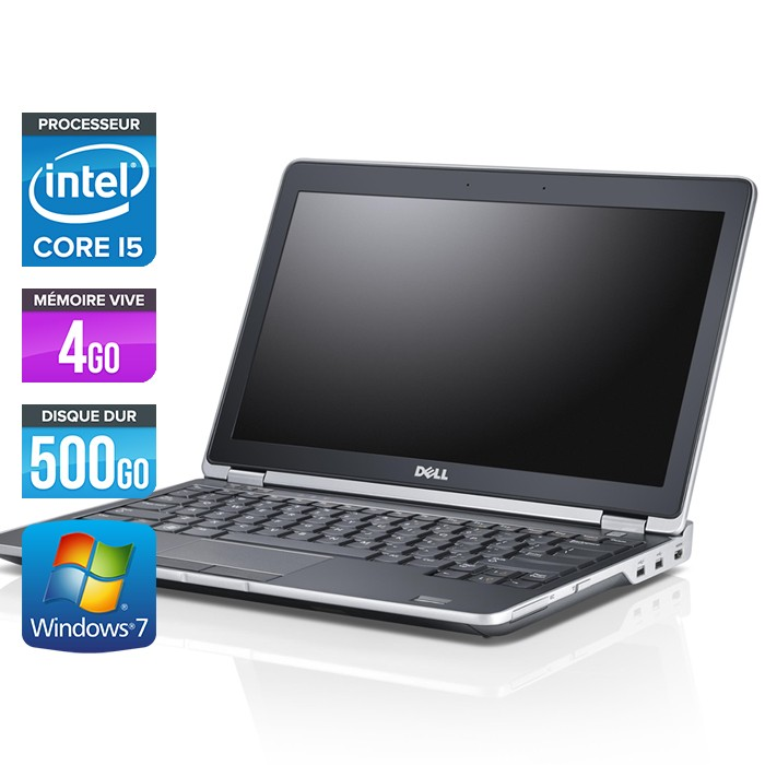 Dell Latitude E6230 - Core i5 - 4Go - 500Go