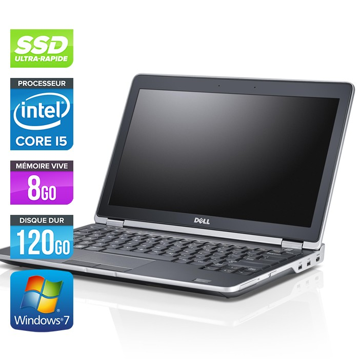 Dell Latitude E6230 - Core i5 - 8Go - 120Go SSD