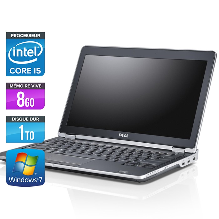 Dell Latitude E6230 - Core i5 - 8Go - 1To