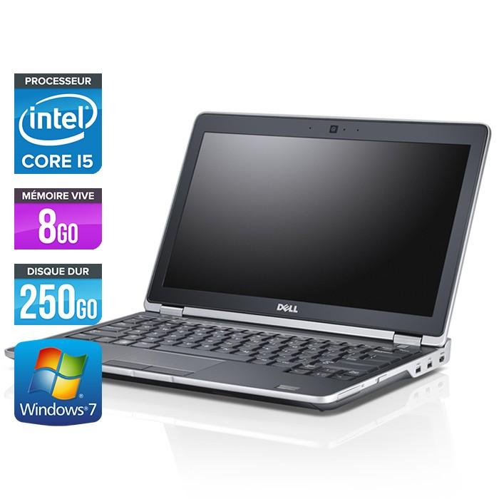 Dell Latitude E6230 - Core i5 - 8Go - 250Go - Webcam