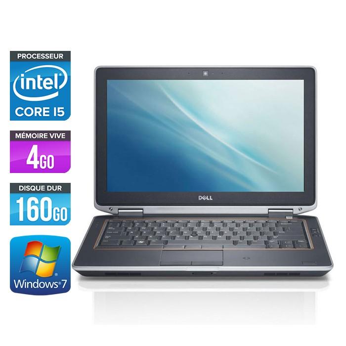 Dell Latitude E6320 - Core i5 - 4Go - 160Go - Webcam