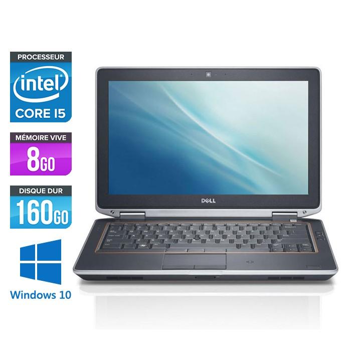 Dell Latitude E6320 - Core i5 - 8Go - 160Go - Webcam - Windows 10