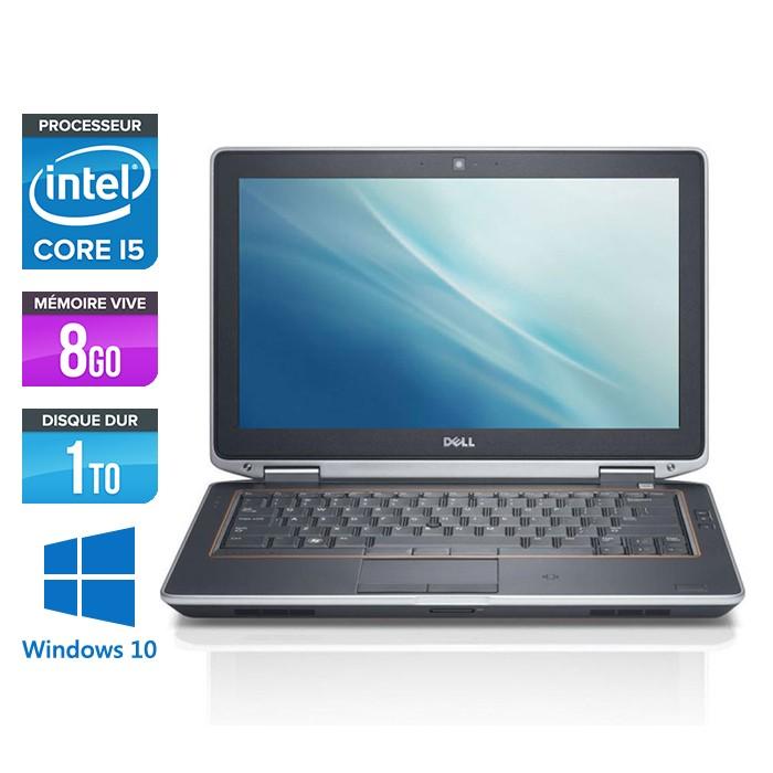 Dell Latitude E6320 - Core i5 - 8Go - 1To - Webcam - Windows 10