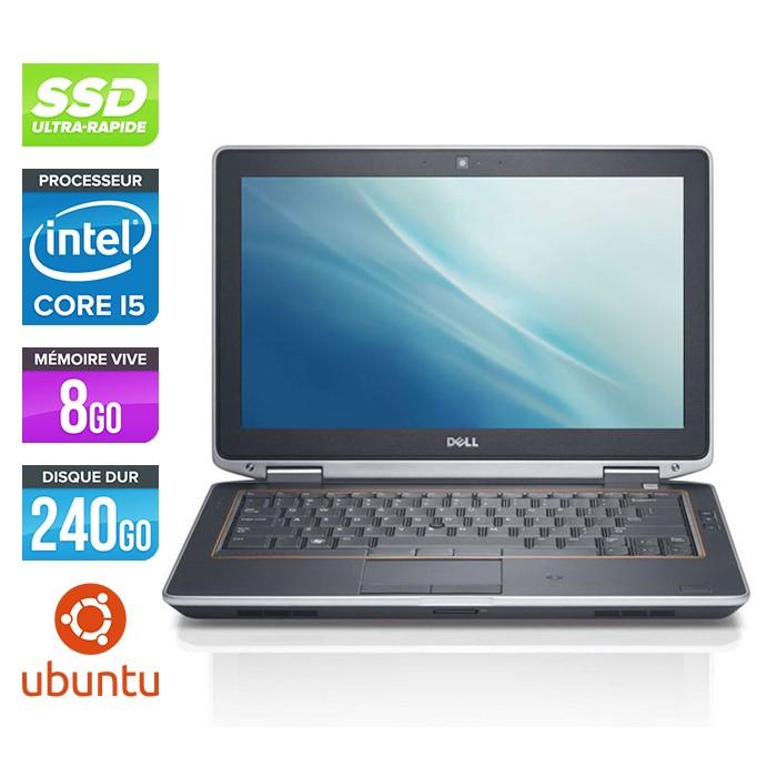 Dell Latitude E6320 - Core i5 - 8Go - 240Go SSD - Linux