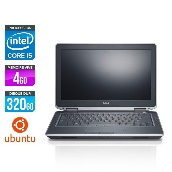 Dell Latitude E6330 - i5-3320M - 4Go - 320 Go HDD - Linux