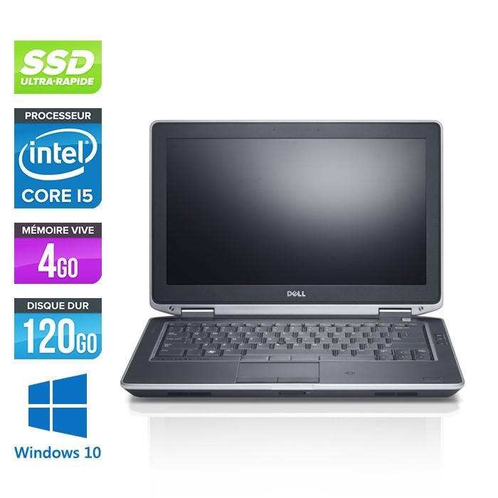 Dell Latitude E6330 - Core i5-3320M - 4Go - SSD 120Go - lecteur DVD  - windows 10