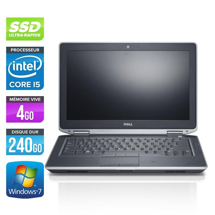 Dell Latitude E6330 - Core i5-3320M - 4Go - 240Go SSD