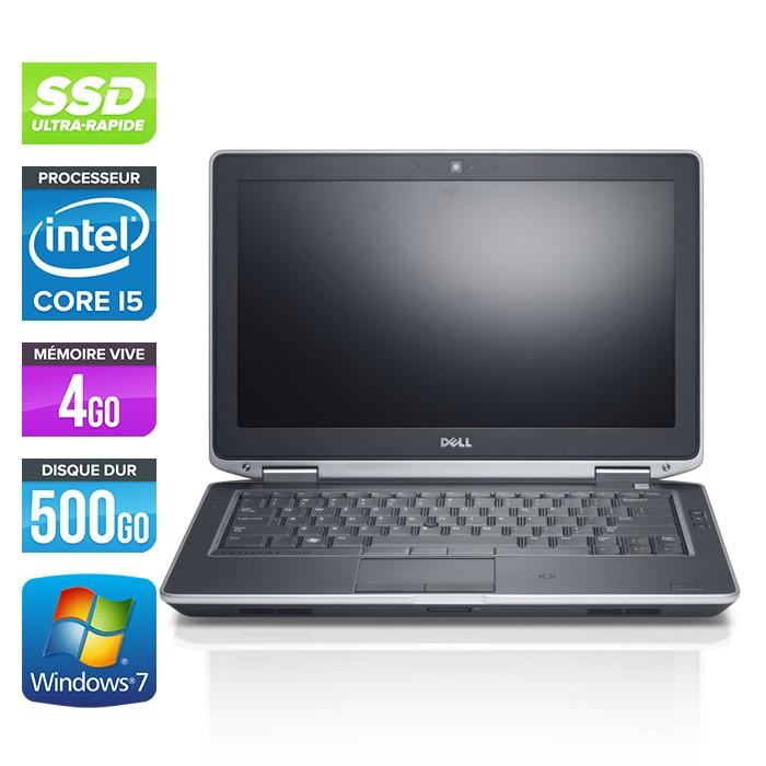 Dell Latitude E6330 - Core i5-3320M - 4Go - 500Go SSD