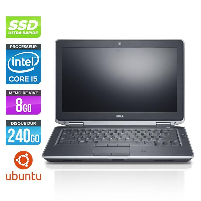 Dell Latitude E6330 - Core i5-3320M - 8Go - 240Go SSD - Linux