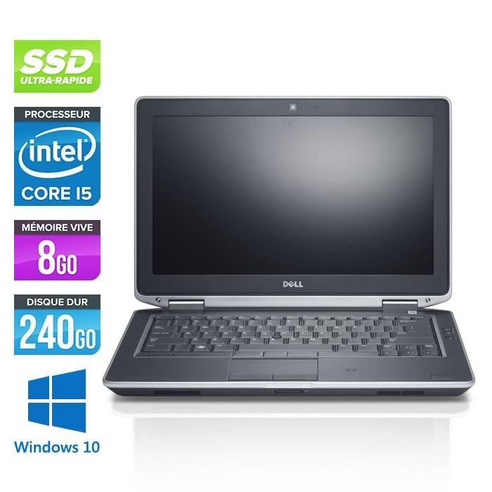 Dell Latitude E6330 - Core i5-3320M - 8Go - 240Go SSD - Windows 10