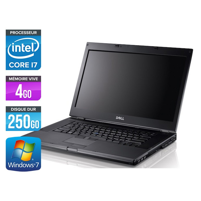 Dell Latitude E6410 - Core i7 - 4Go - 250Go