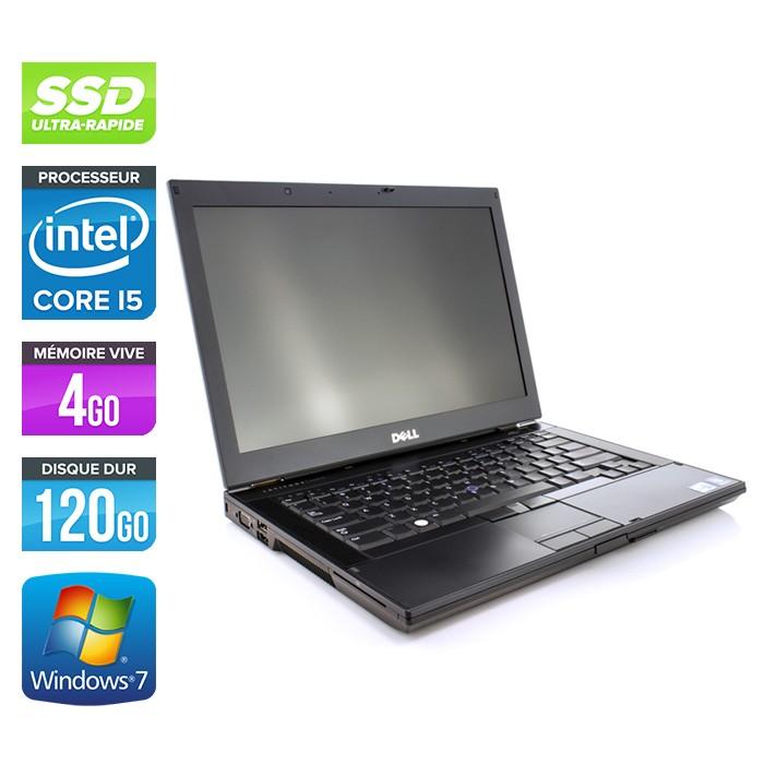Dell Latitude E6410 - Core i5 560M - 4Go - 120Go SSD - Webcam