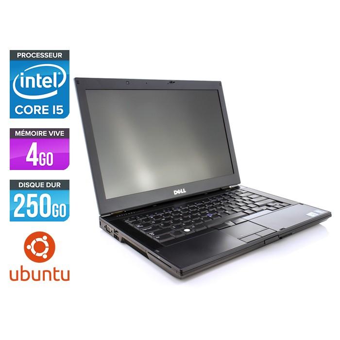 Dell Latitude E6410 - Core i5 520M - 4Go - 250Go - Ubuntu / Linux