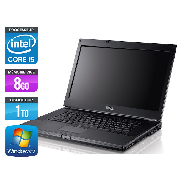 Dell Latitude E6410 - Core i5 520M - 8Go - 1To - Windows 7