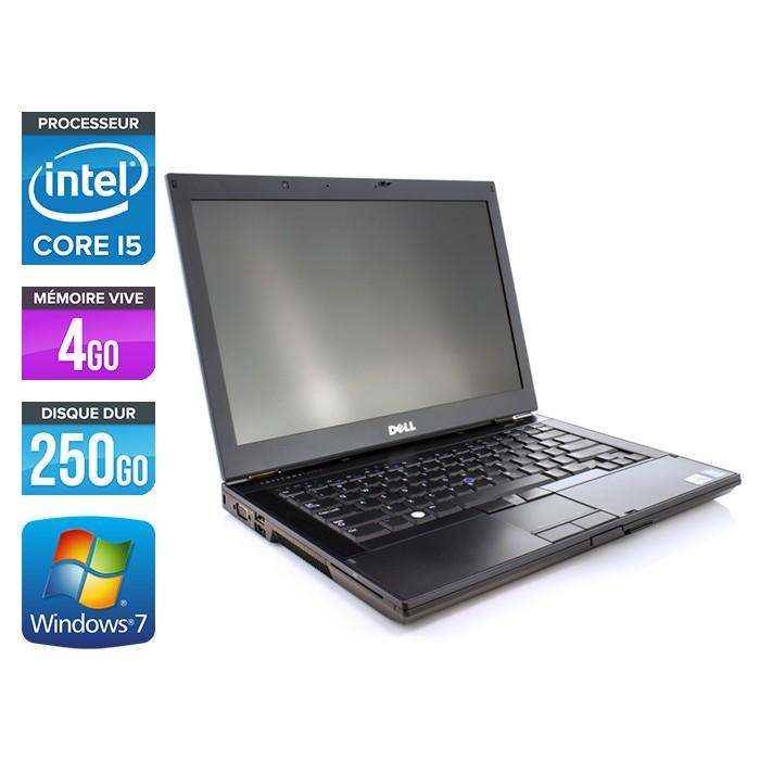 Dell Latitude E6410 - Core i5 560M - 4Go - 250Go - Webcam