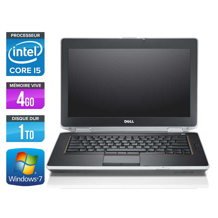 Dell Latitude E6420 - Core i5 - 4Go - 1To