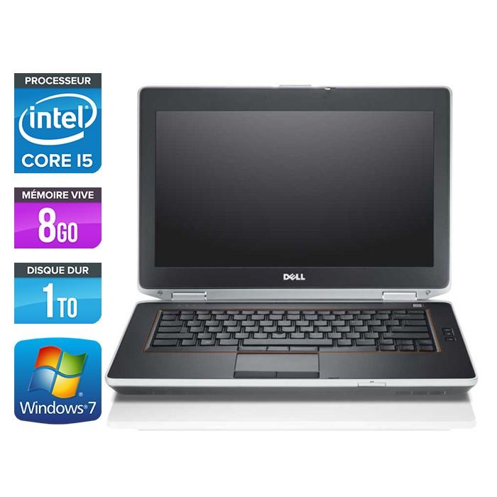Dell Latitude E6420 - Core i5 - 8Go - 1To