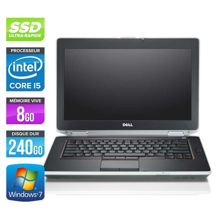 Dell Latitude E6420 - Core i5 - 8Go - 240Go SSD