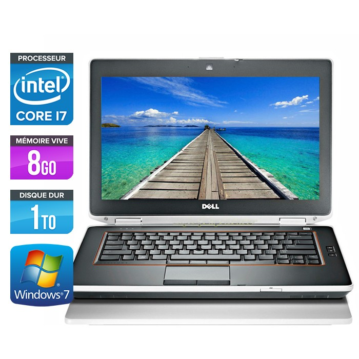 Dell Latitude E6420 - Core i7 - 8Go - 1To - Webcam