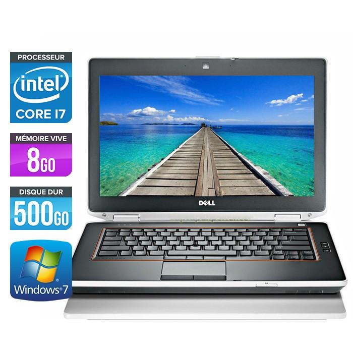 Dell Latitude E6420 - Core i7 - 8Go - 500Go - Webcam