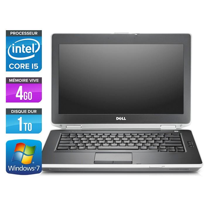 Dell Latitude E6430 - Core i5-3320M - 4Go - 1To