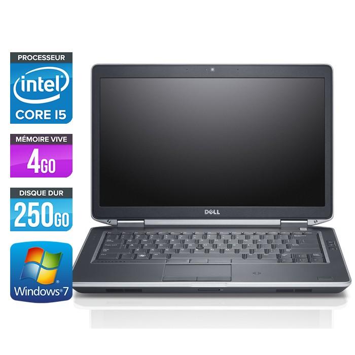 Dell Latitude E6430 - Core i5 - 4Go - 250Go