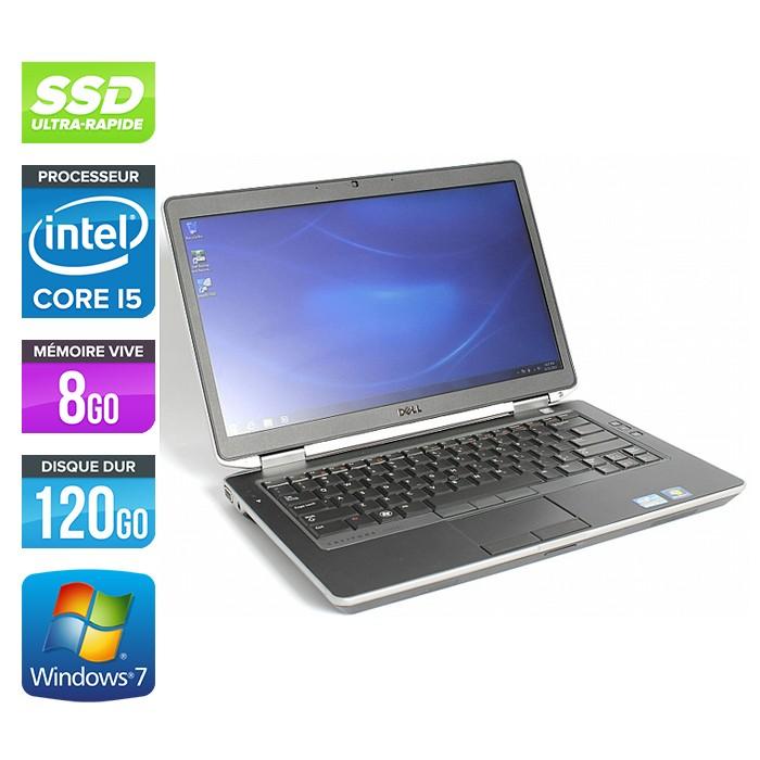 Dell Latitude E6430 - Core i5-3320M - 4Go - 120Go SSD