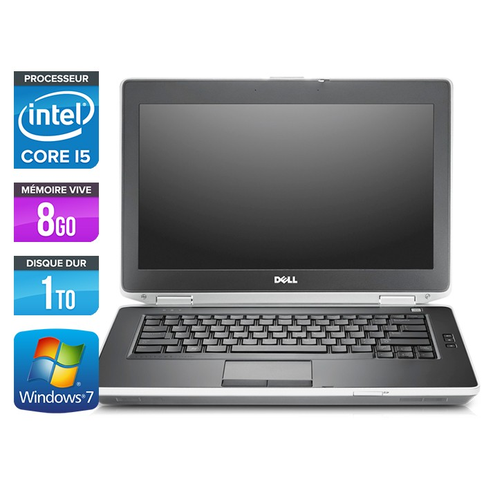 Dell Latitude E6430 - Core i5-3320M - 8Go - 1To