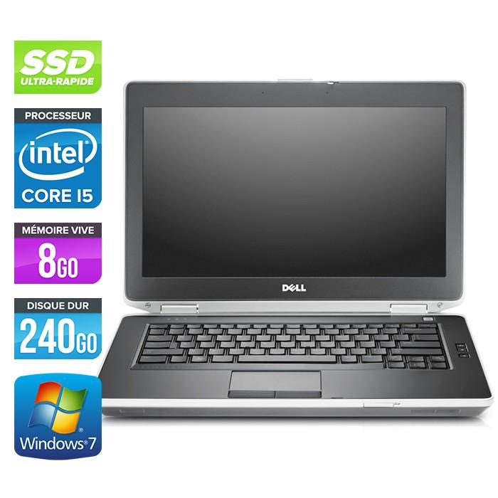 Dell Latitude E6430 - Core i5-3320M - 8Go - 240Go SSD