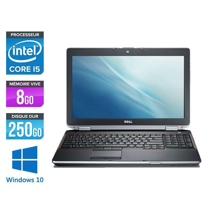 Dell Latitude E6520 - Core i5 - 8Go - 250Go - Windows 10