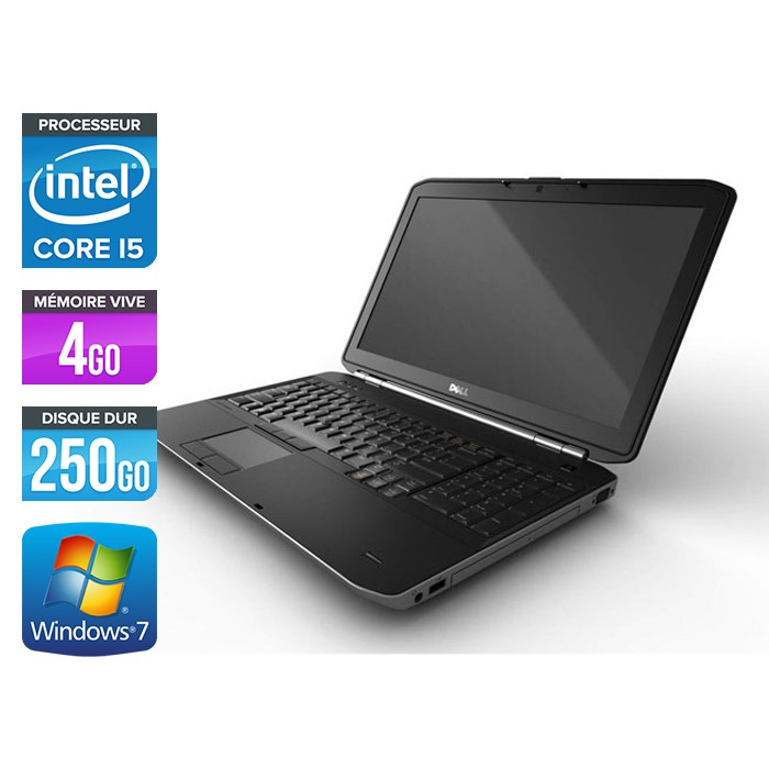Dell Latitude E5520 - Core i5 - 4Go - 250Go