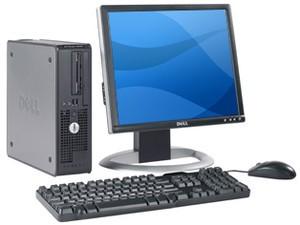 """PC BUREAU DELL OPTIPLEX 520 + Ecran TFT 17"""""""