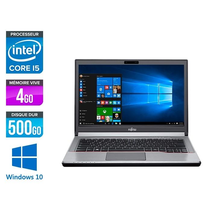 Fujitsu LifeBook E744 - i5-4300M - 4Go - 500Go SSHD - WINDOWS 10