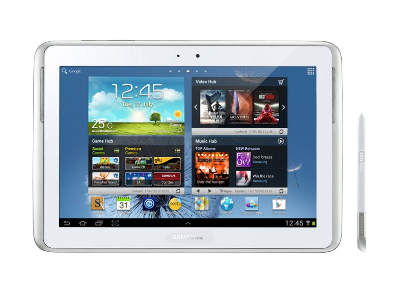 Tablette Tactile Samsung Note 10.1 (2012) - GT-N8010 - Blanche