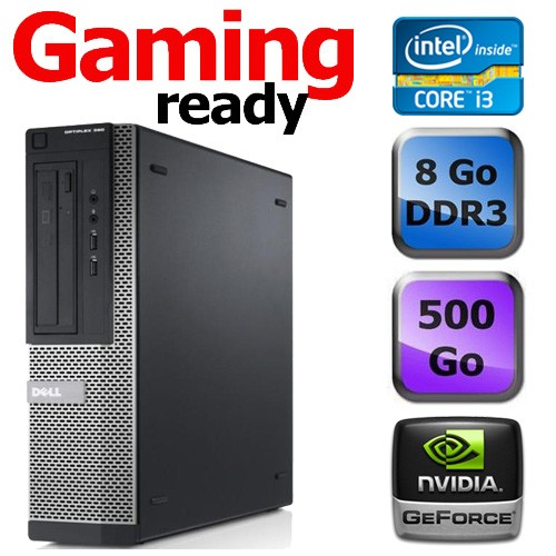 Dell Optiplex 390 Desktop - Gaming ready