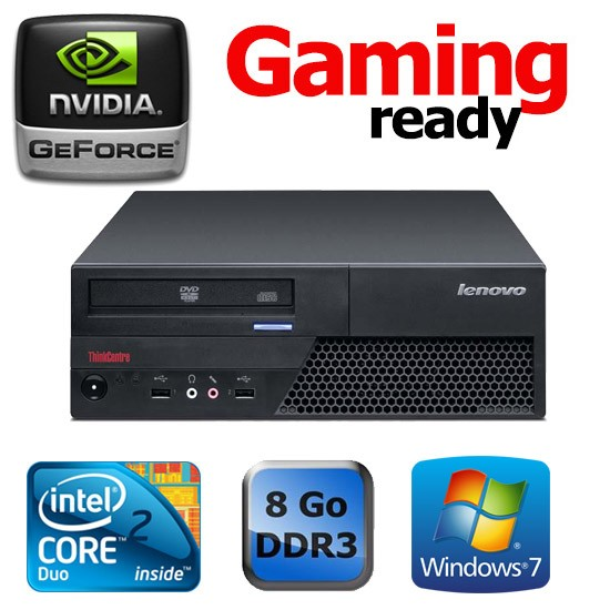LENOVO THINKCENTRE M58P SFF - Gaming Ready