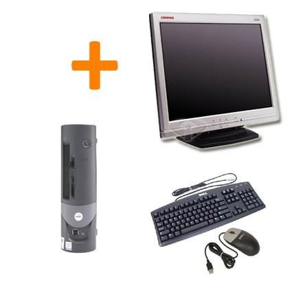 """Dell Optiplex GX60 SFF + Ecran TFT 15"""""""