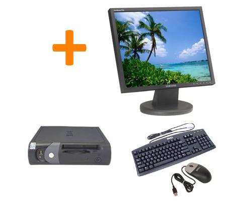 """Dell Optiplex GX270 SFF + Ecran TFT 17"""""""