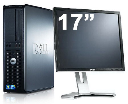 Dell Optiplex GX380 + Ecran TFT 17""