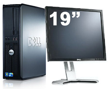 Dell Optiplex GX380 + Ecran TFT 19""