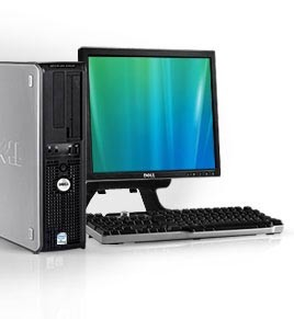 "Dell Optiplex GX755 + Ecran TFT 17"" + Clavier + Souris"