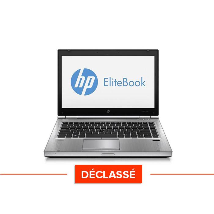 Ordinateur portable reconditionné - HP EliteBook 2560P - Déclassé - i7 - 8Go - 500Go HDD - Windows 10