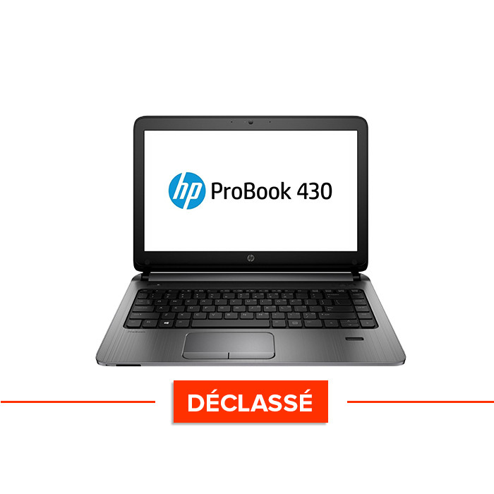 Pc portable - HP ProBook 430 G2 - i5 - 4Go - 120Go SSD - Windows 10 Home - Déclassé