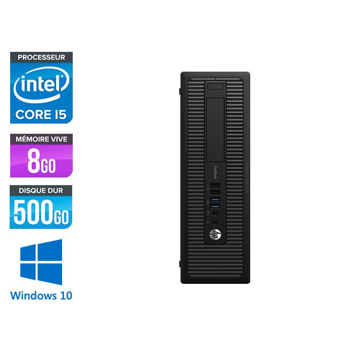 HP ProDesk 600 G2 SFF - i7-6700 - 8Go DDR4 - 240Go SSD - Windows 10