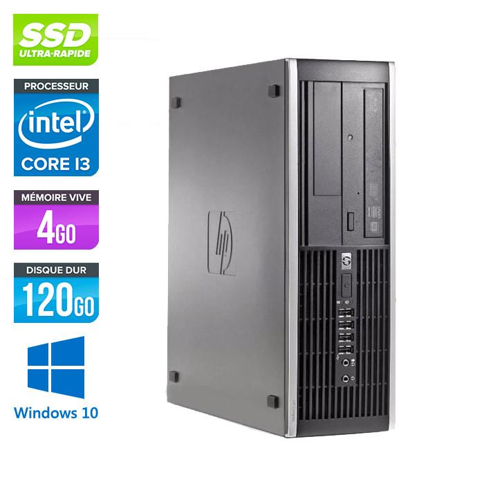 HP 6200 PRO SFF - Core i3 - 4Go - 120Go SSD - Windows 10